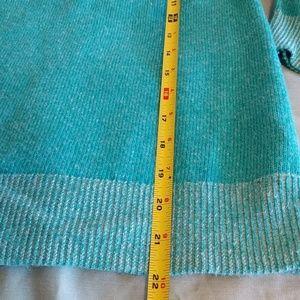 J. Crew Sweaters - Teal Marino Wool 3/4 Sleeve Sweater